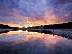 Pescando en el Lago Travis (Austin, Texas)