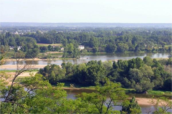 Confluencia del Loira y del Viena (Francia)