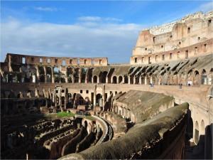 Visitando el interior del Coliseo Romano