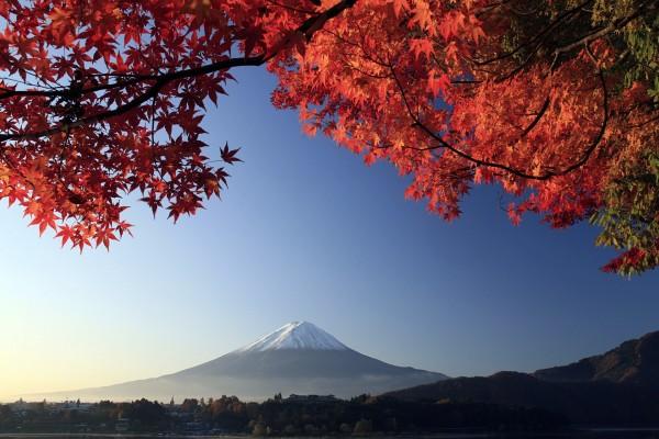 Panorámica del Monte Fuji, en Japón