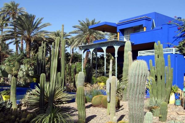 Jardín Majorelle (Marrakech, Marruecos)
