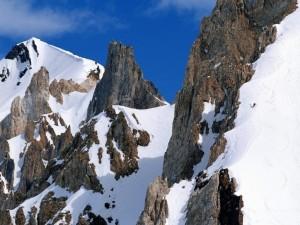 Esquiando en Las Leñas (Argentina)