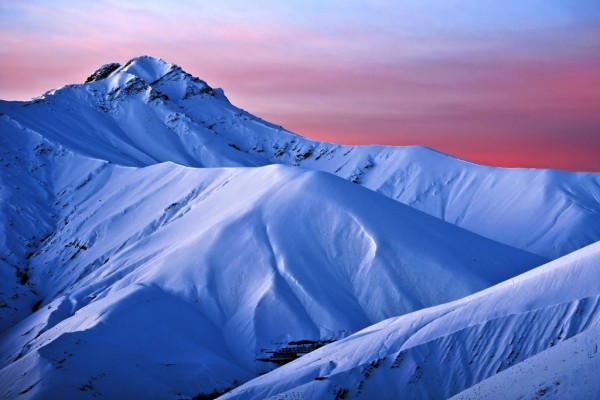 Montañas azules