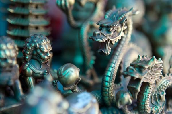 Dragones de metal