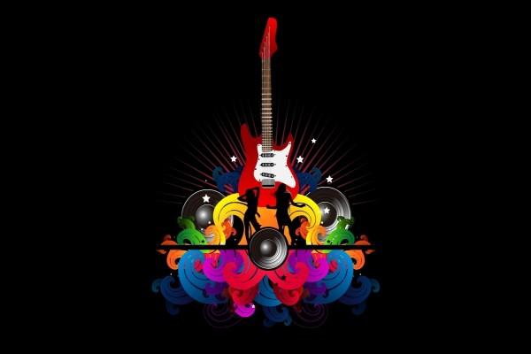 Guitarra y bailarinas