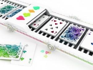 Postal: Fabricando cartas de poker