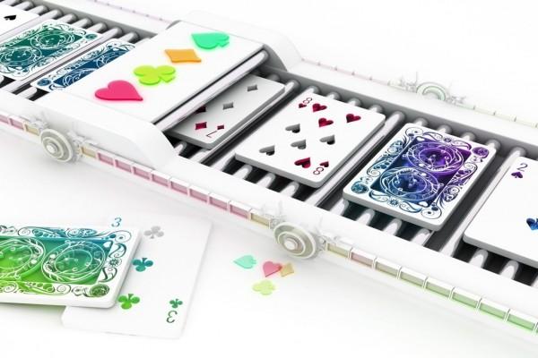 Fabricando cartas de poker