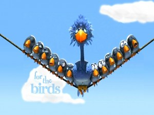 Postal: Vuelo de Pájaros (cortometraje de Pixar)