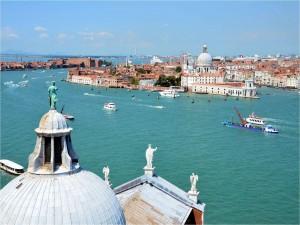 Postal: Canale della Giudecca (Venecia)