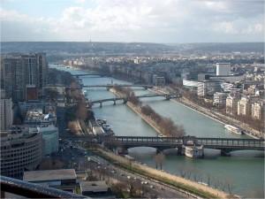 El río Sena (París, Francia)