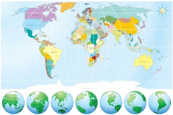Mapa del Mundo (Mapamundi)