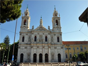 Postal: Basílica de la Estrella (Lisboa, Portugal)