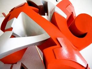 Postal: Figura compleja en 3D