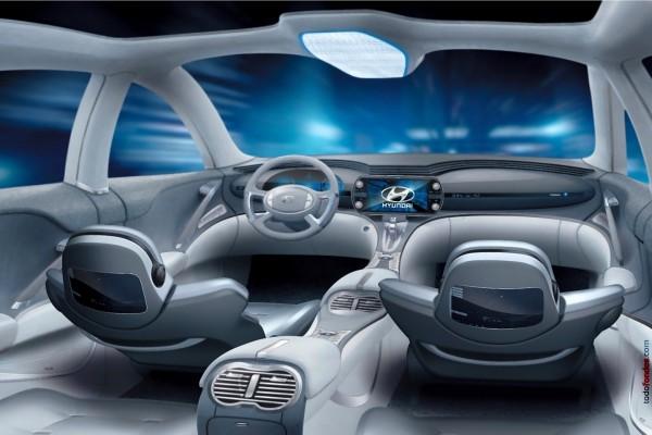 Interior del Hyundai Neos (Neos 3 Concept 2005)