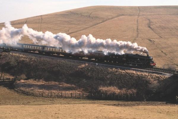 "Locomotora de vapor ""Alderman A.E. Draper"""