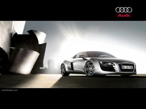 Postal: Superdeportivo Audi R8