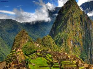 Panorámica del Machu Picchu, en Perú