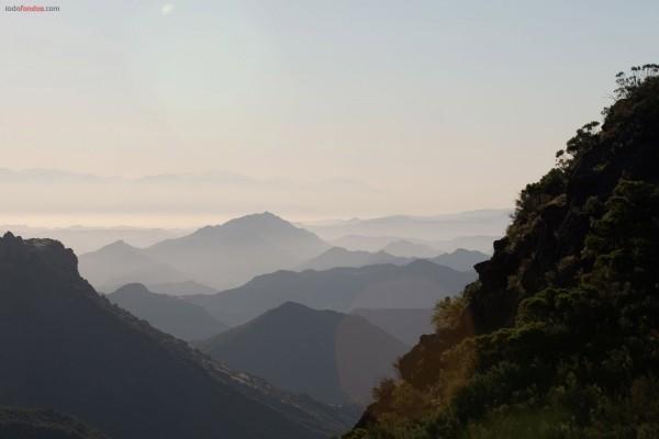 Cumbres de montañas