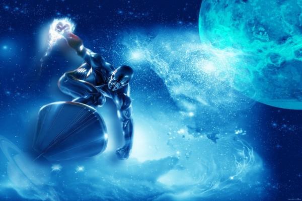 Estela Plateada - Surfista de Plata (Universo Marvel)