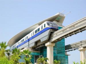 Estación de monorraíl de Palma Jumeirah (Dubái, Emiratos Árabes Unidos)
