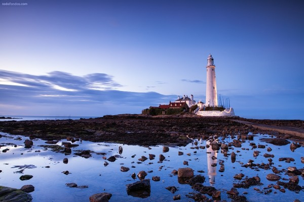 Faro de Santa María (Whitley Bay, Inglaterra)