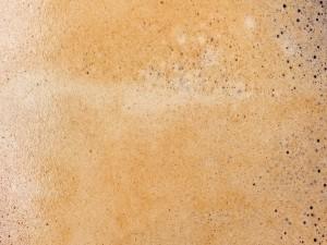 Postal: Espuma de un café expreso