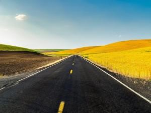 Campo y asfalto