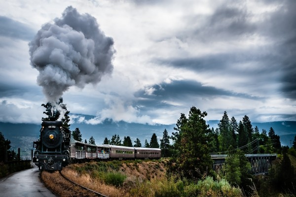Kettle Valley Steam Railway (Summerland, Columbia Británica, Canadá)