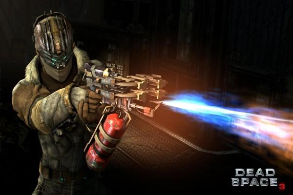Dead Space 3: arma tipo soplete de fuego