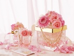 Flores y joyas