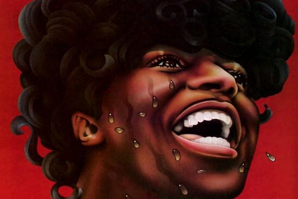 Caricatura de Little Richard (cantante, compositor y pianista de rock and roll)