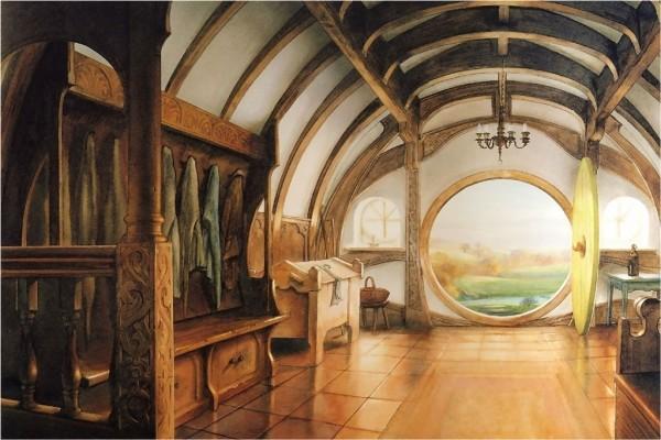 El hogar de un hobbit