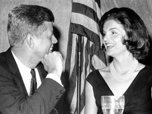 Postal: John y Jackie Kennedy