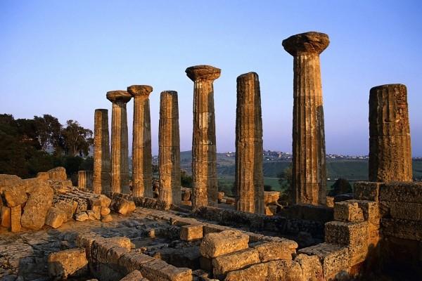Columnas de piedra con mucha historia