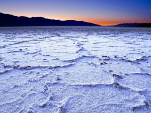 Salinas de Badwater, Death Valley, California