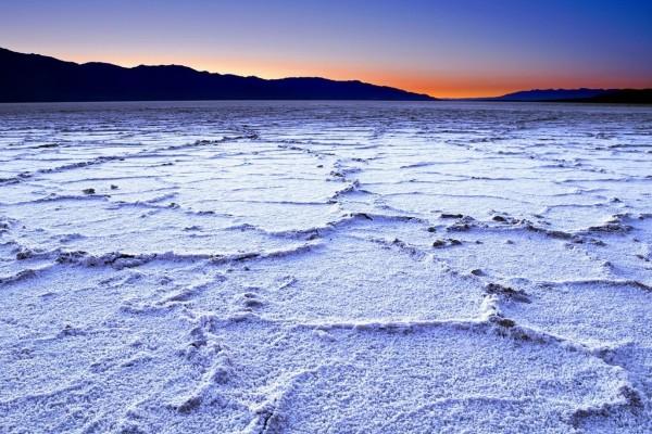 Salinas de Badwater, Death Valley, California