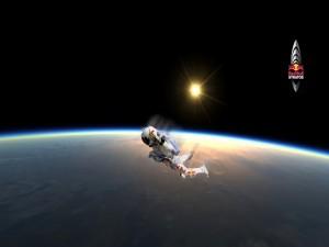 Postal: Misión Red Bull Stratos, con Felix Baumgartner