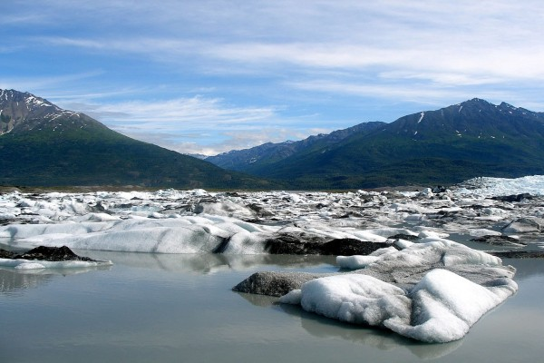 Glaciar Knik (Anchorage, Alaska)