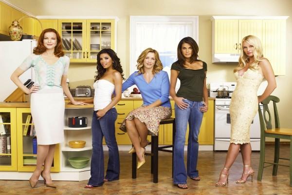 "Protagonistas de ""Mujeres desesperadas"" (""Esposas desesperadas"", ""Amas de casa desesperadas"")"