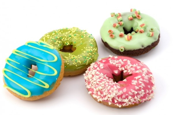 Donuts de colores
