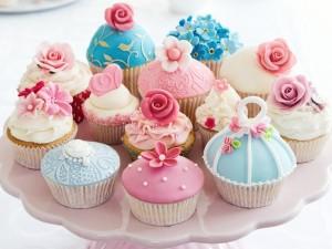 Postal: Decoración de cupcakes