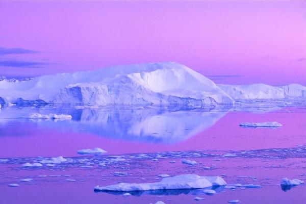 Reflejo de un iceberg