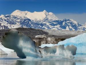 Glaciar Lowell, río Alsek (Columbia Británica - Alaska)