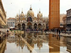 Postal: Plaza de San Marcos (Venecia)