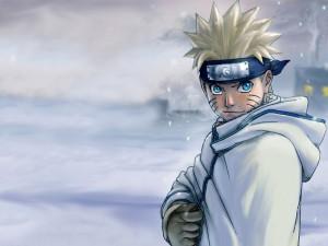 Naruto en la nieve