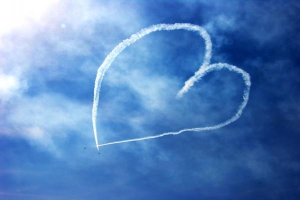 Un corazón en el cielo
