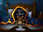 Escondido bajo las sábanas