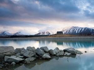 Lago Tékapo (Isla Sur de Nueva Zelanda)
