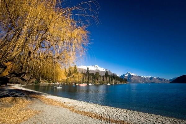 Lago Wakatipu, Queenstown (Nueva Zelanda)