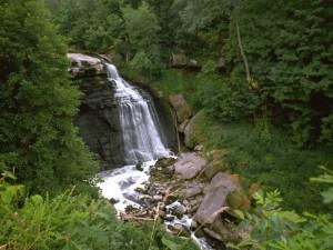 Postal: Cataratas Brandywine, Parque Nacional del Valle Cuyahoga (Ohio)